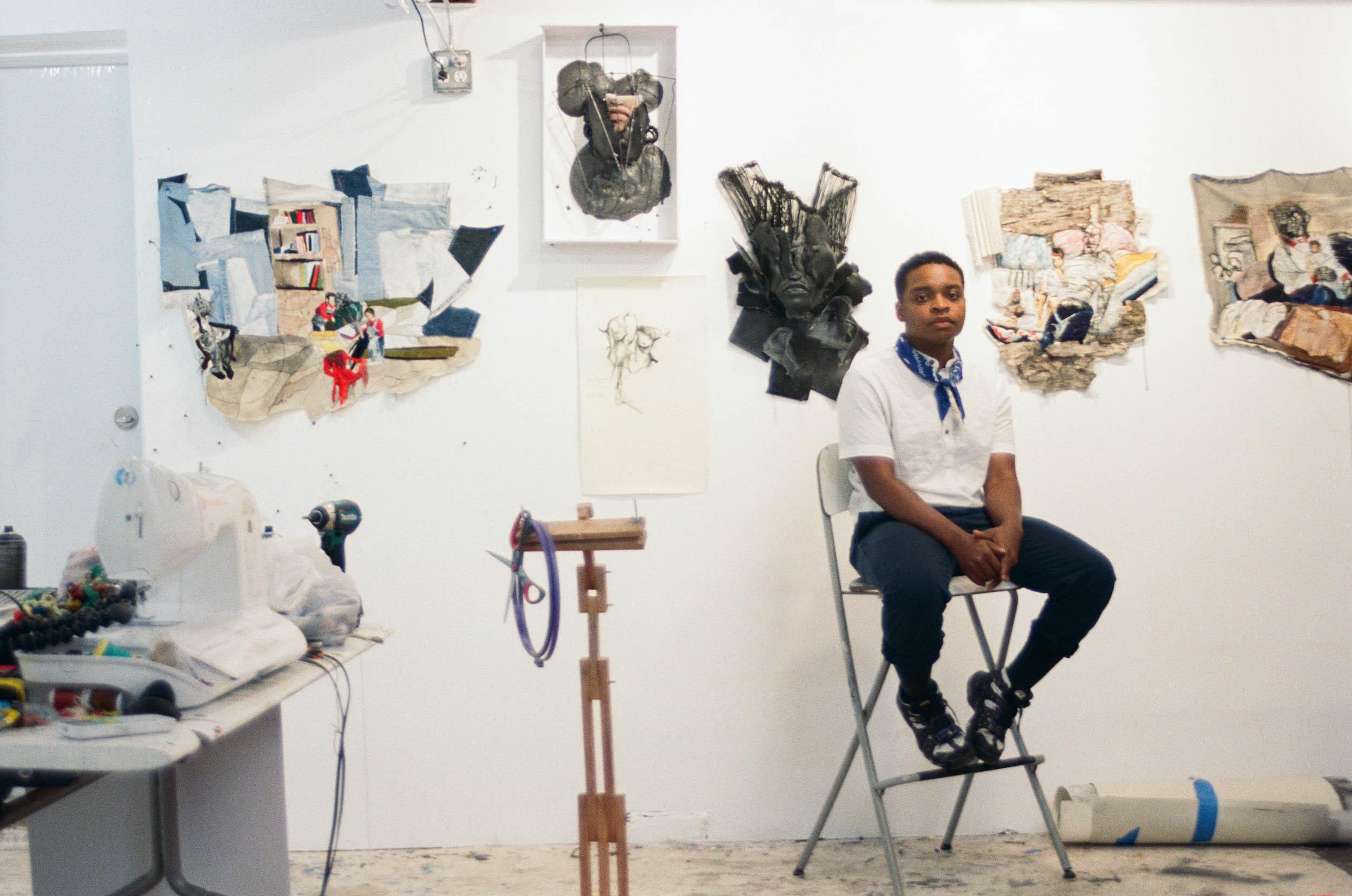"""I destroy and then I reconfigure"" | Antithesis, Chiffon Thomas's New Solo Exhibition, Opens at Kohn Gallery"